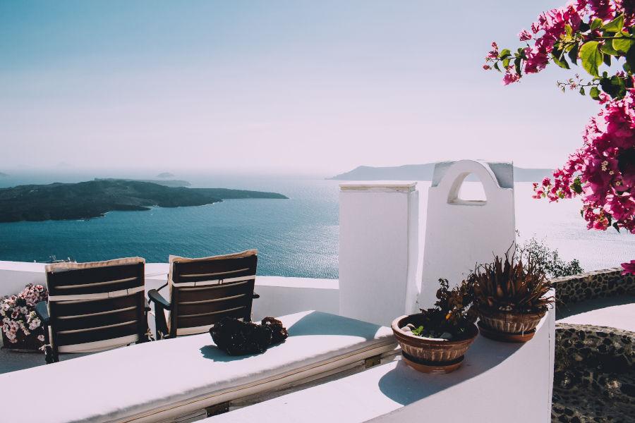 Piękny widok na zatokę z balkonu ubezpieczenia-lodz.com